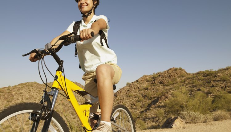 How to Convert a Mountain Bike into a Stationary Exercise Bike
