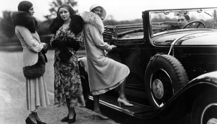 Low prices and easy credit made the family car a symbol of consumer society in the 1920s.
