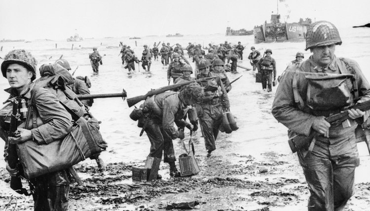 The Normandy invasion was the largest amphibious assault in history.
