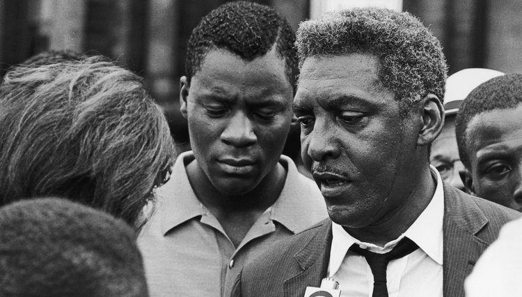 "Civil rights leader Bayard Rustin is likely to have coined the phrase, ""Speak truth to power."""