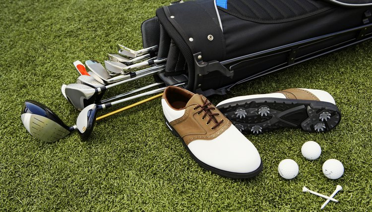 A golfer's bag usually includes a driver, fairway woods, hybrids, irons, wedges and a putter.