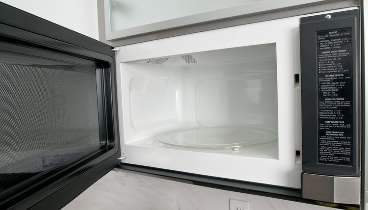 Impress the judges: Research how a microwave works.