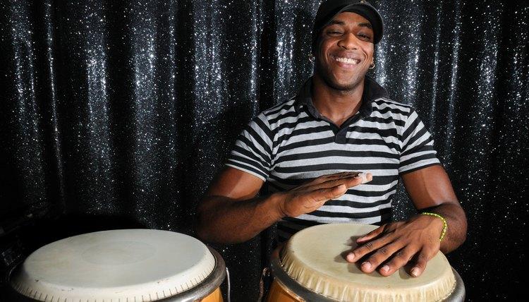 A Cuban percussionist.