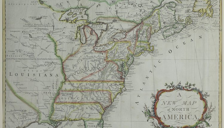 Beyond the 13 colonies, the colonists were unaware of the lay of the land.