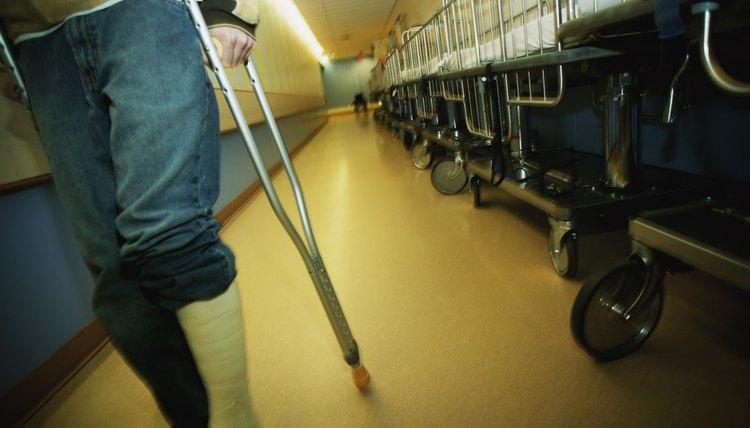 Stair Techniques for a Broken Leg