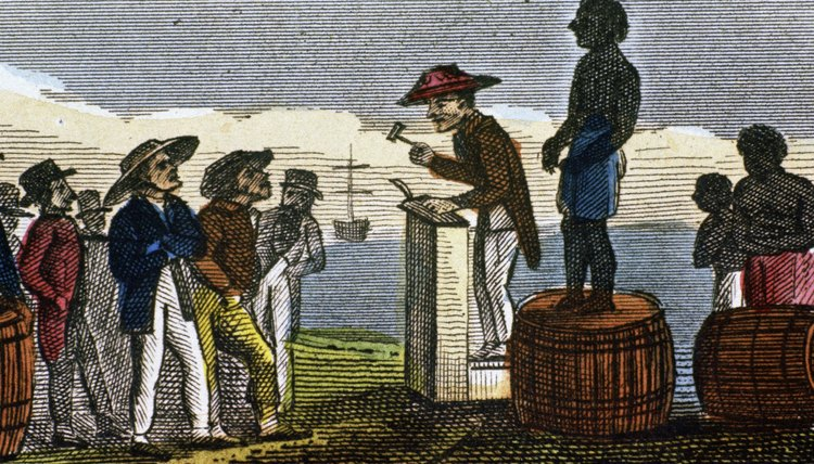 The New England colonies practiced slavery beginning in the mid-17th century.