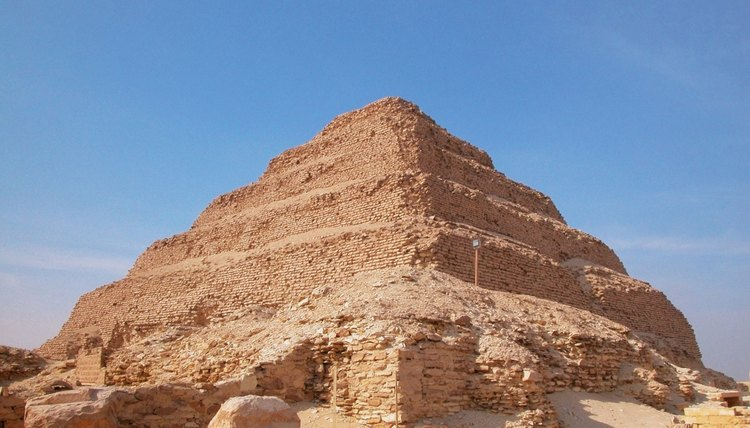 Pepi II was buried near the Step Pyramid in Saqqara.