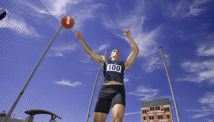 Which Muscles Are Used When Throwing a Discus?