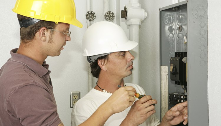 electricians wiring panel - Responsibilities Of An Electrician