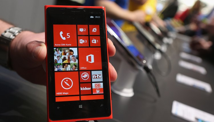 Transferring contacts from a SIM takes just a few taps on a Windows Phone.