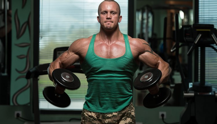 Lateral Raise With Bent Arms