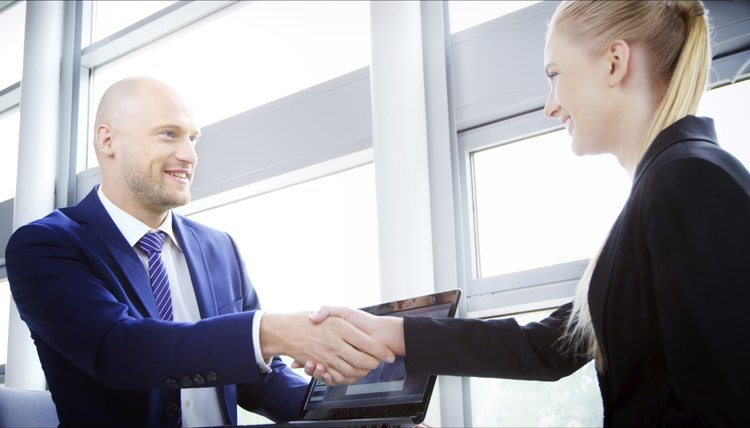 Professional Business Handshake