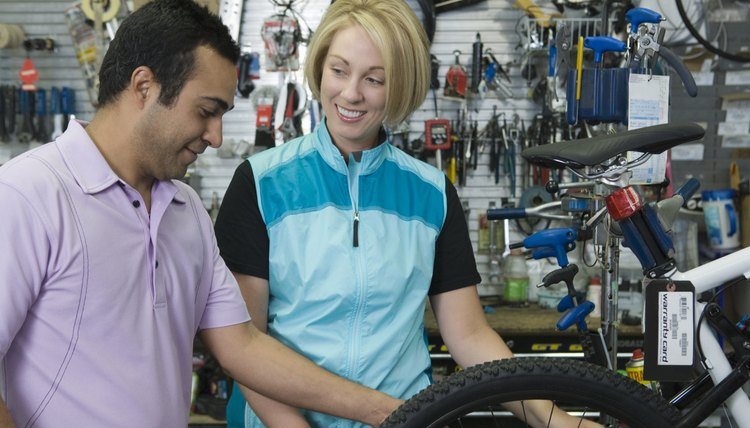 Bike Tire Sizes & a Woman's Height