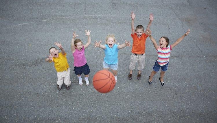 Kindergarten Basketball Drills