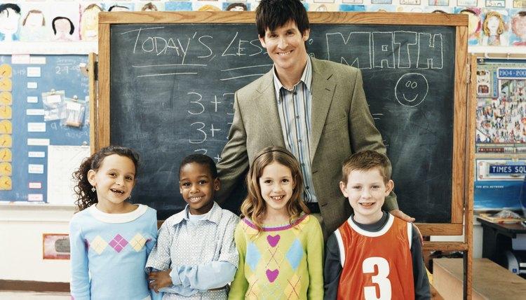 Elementary school teachers teach kindergarten through fifth or sixth grades, depending on your district.