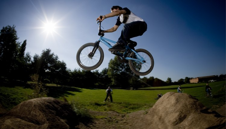What Muscles Does a BMX Work Out?