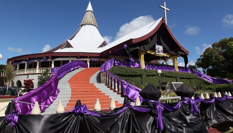 Catholic churches are common on the island of Tonga.