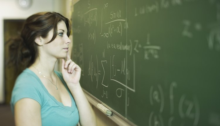 Understanding mathematics on the chalkboard
