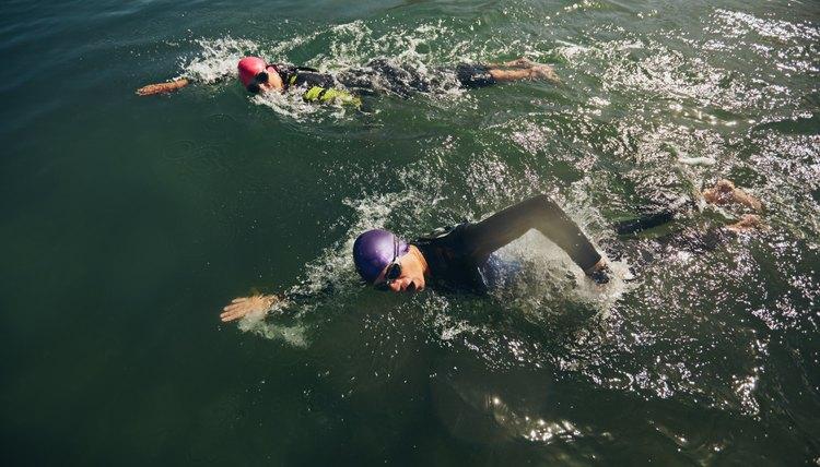 How to Train For a First Triathlon Swim