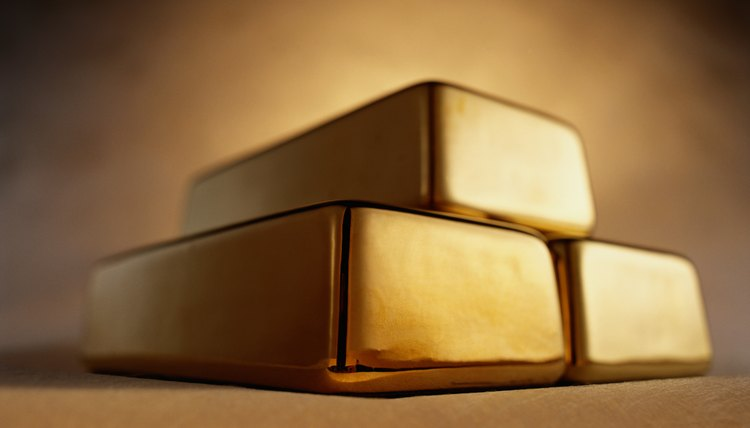 The gold standard was based on currency issue pegged to gold holdings.
