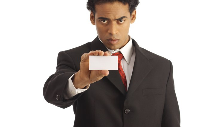 Write out the company name exactly as you see it on their website or an employee's business card.