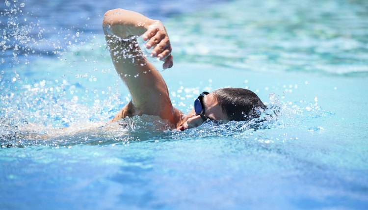 Swimming Workout for Basketball Players