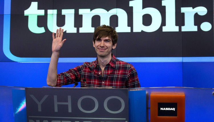 Tumblr founder David Karp sold the site to Yahoo in 2012.