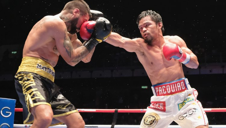 Manny Pacquiao v Lucas Matthysse - WBA Welterweight Title Bout