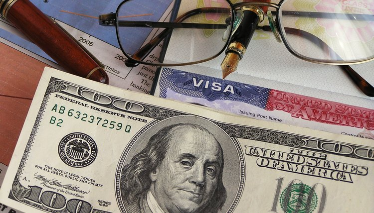 US tourist visa and cash