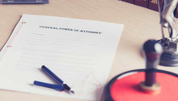 How To Transfer A Title With A Power Of Attorney Legalbeagle