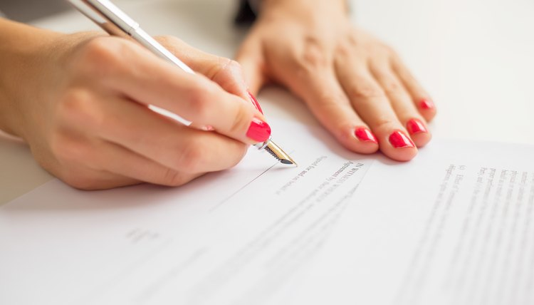 how to write a deferral letter