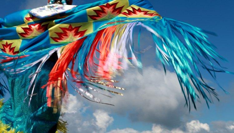 Lakota Native American dancing