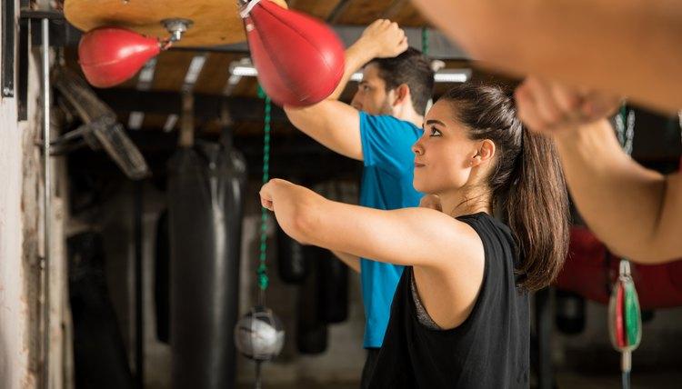 Boxing Speed Ball Training