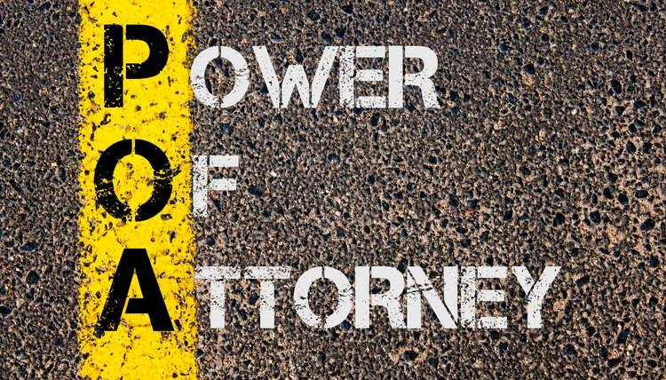 Acronym POA - Power Of Attorney