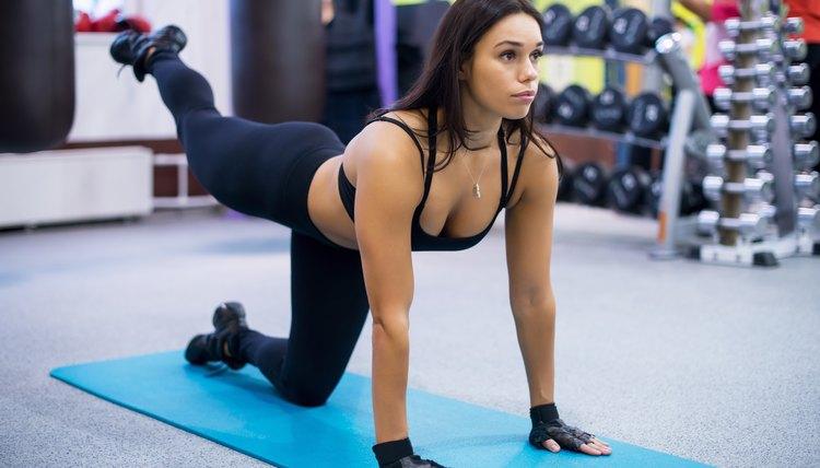 Floor Exercises for the Butt