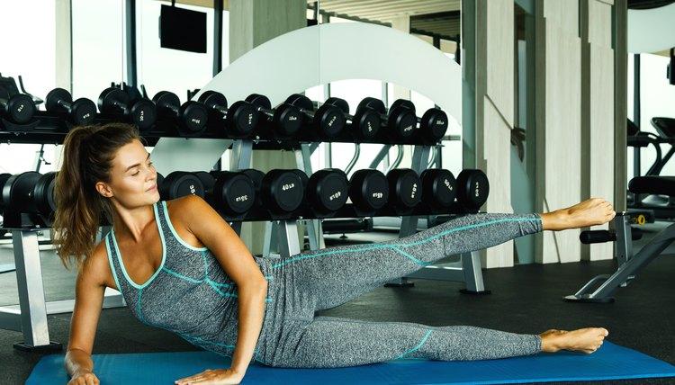 Leg Scissor Exercises for Inner and Outer Thighs