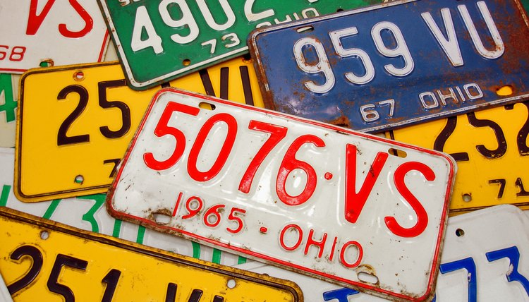 How To Dispose Of Old Car License Plates