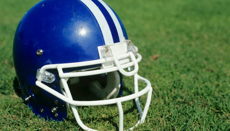 Different Types of Football Helmets