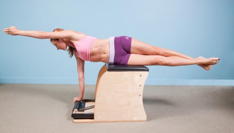 Exercises on the Malibu Pilates Chair