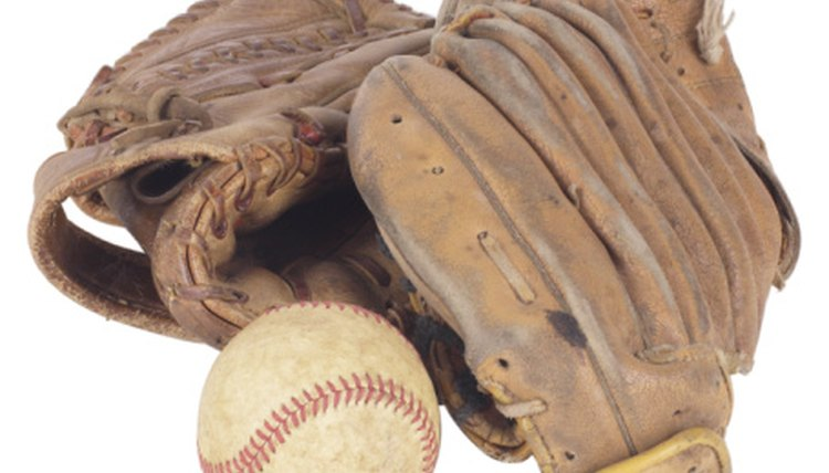 How to Break in a Baseball Mitt in the Oven