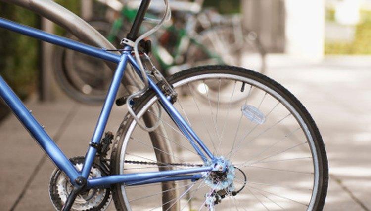 Broken Rear Axle on a Bike