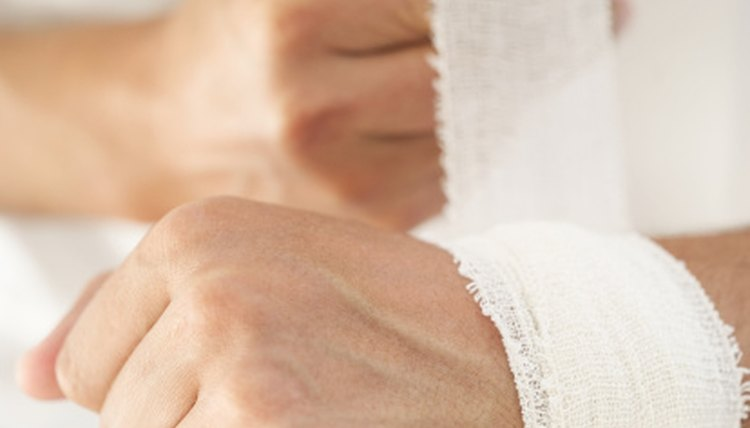 How to Wrap a Weak Wrist for Tennis