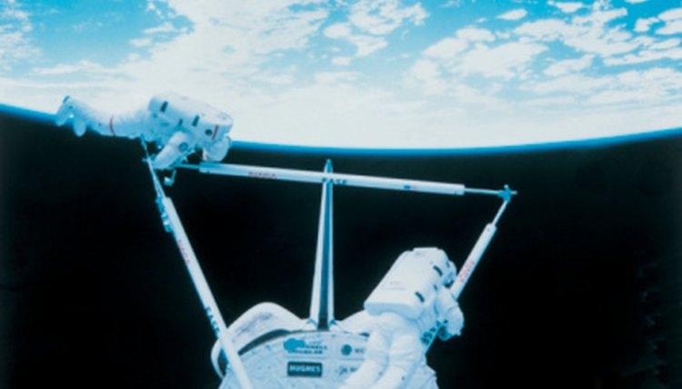 Astronaut Exercise Equipment