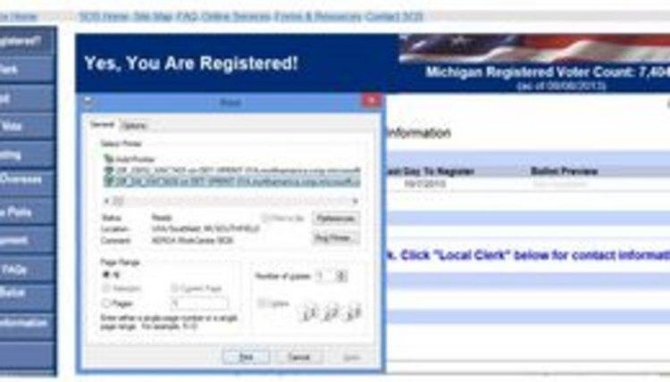 Retain the voter information