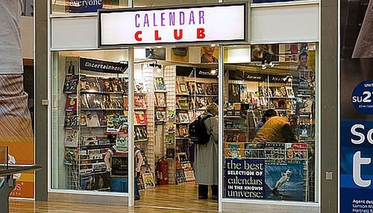 Selling your calendar in a store is a process that takes time and a lot of planning ahead of time.