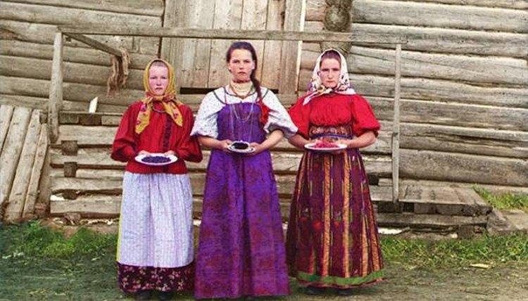Russian Women Peasants