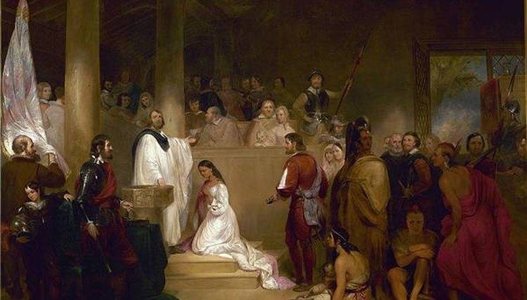 John Gadsby Chapman- Baptism of Pocahontas