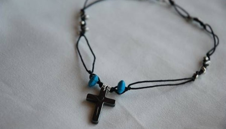 Add beads during prayer time as a Vacation Bible School craft for teens.