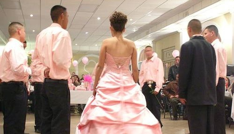 Quinceanera group dance.