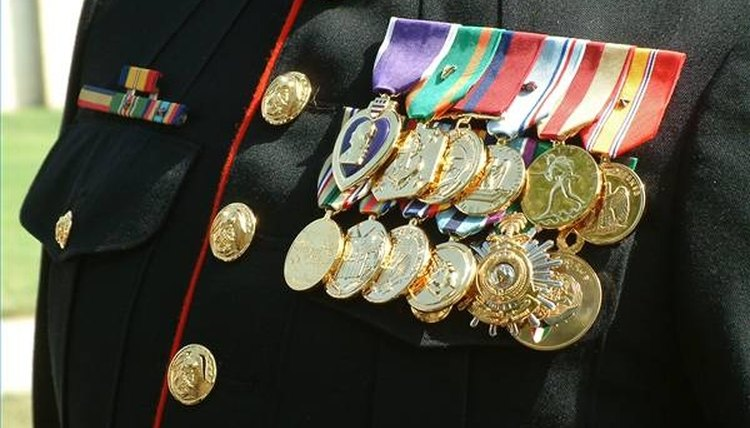 How to Build a Rack for Military Medals | Synonym